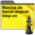 Masina de frecat-aspirat step-on