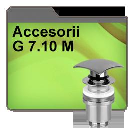 Accesorii G 7.10 M