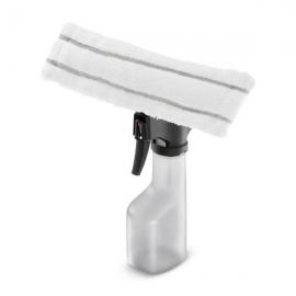 Flacon de stropit cu tampon de microfibra aplicat