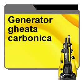 Generator gheata carbonica